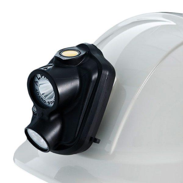 Alfa WL safety LED caplamp ATEX lighting