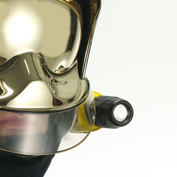Adalit L10 linterna de casco bombero ATEX ZONA 0
