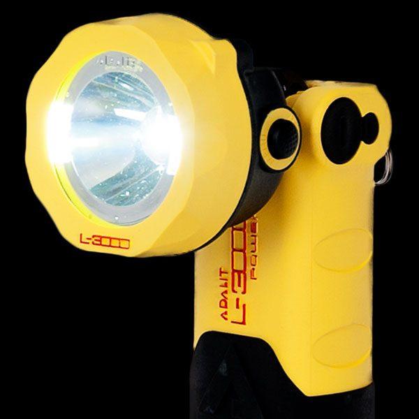 Adalit L3000POWER linterna de seguridad ATEX ZONA 0