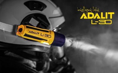 La revolucionaria linterna de casco ADALIT L-30